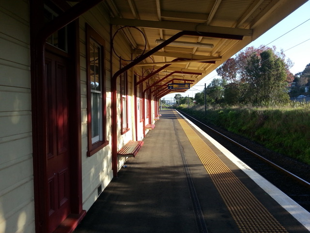 Northbound side of Remuera Station.