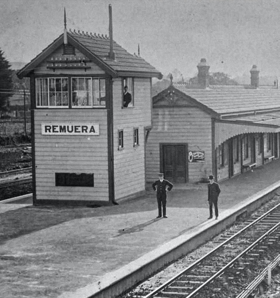 Remuera Railway Station & Signal Box
