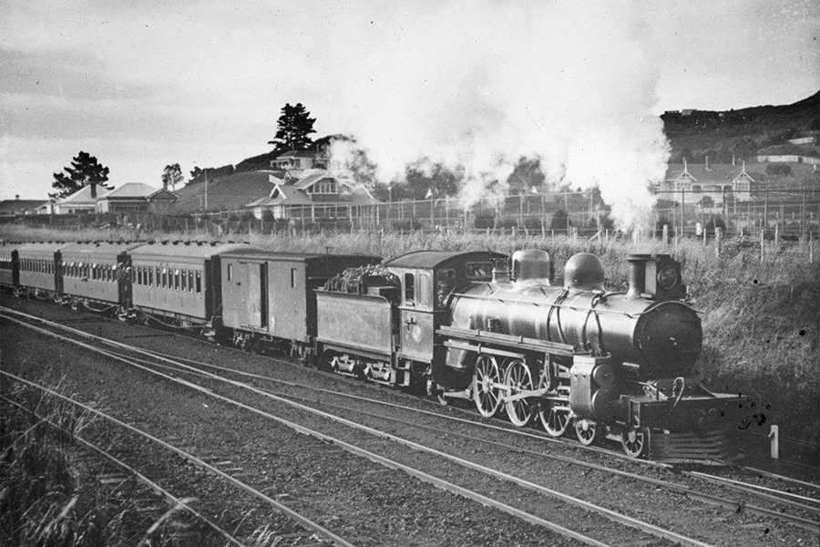 A Class Pacific Steam Locomotive